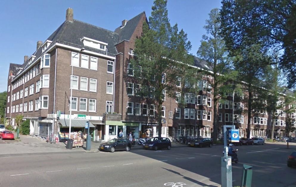 Vooraanzicht VvE Haarlemmermeerstraat 50-74